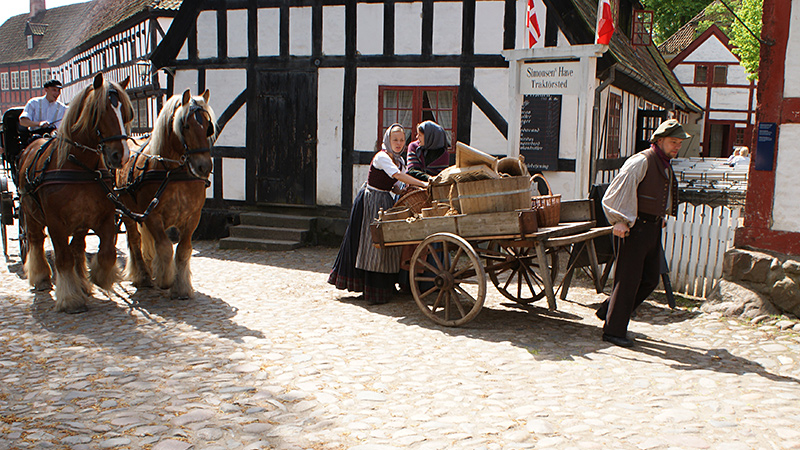Experience Living history at Den Gamle By
