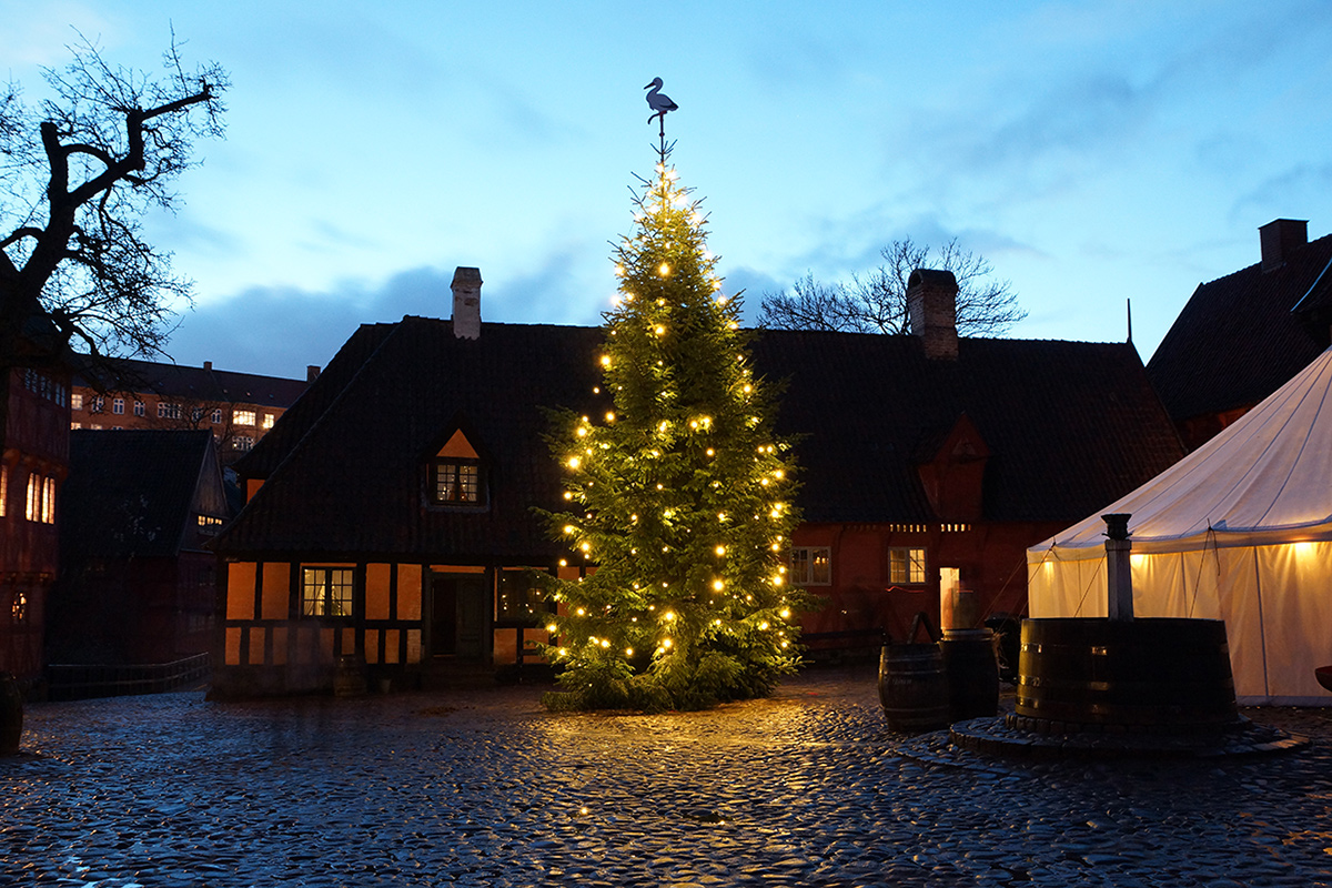 Christmas is magical at Den Gamle By